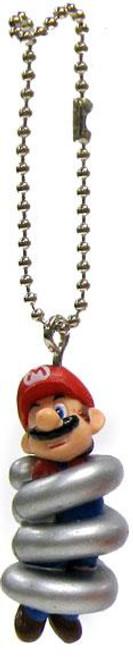 Super Mario Galaxy 2 Mario Collection Mario 1-Inch Keychain [Spring]