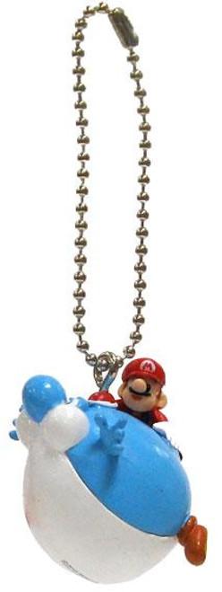 Super Mario Galaxy 2 Mario Collection Yoshi 1-Inch Keychain [Blimp]