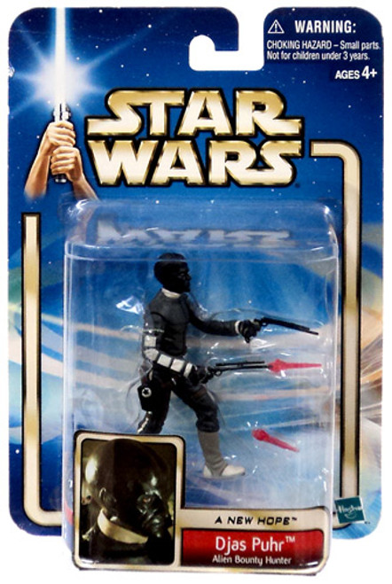Star Wars A New Hope Basic 2002 Collection 2 Djas Phur Action Figure #40 [Alien Bounty Hunter]