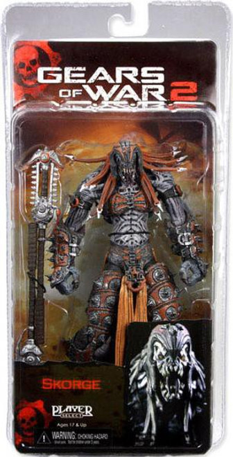 NECA Gears of War 2 Series 6 Skorge Action Figure