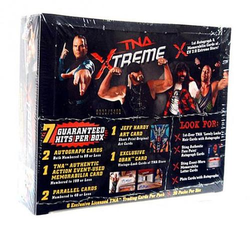 TNA Wrestling TNA Xtreme Hobby Trading Card Box