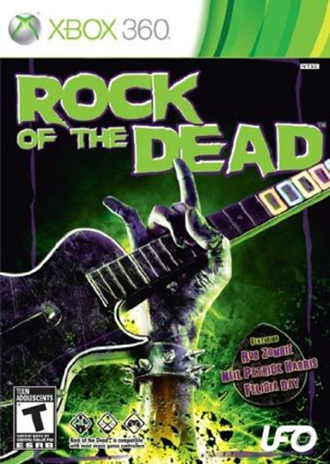 xBox 360 Rock Of The Dead Video Game