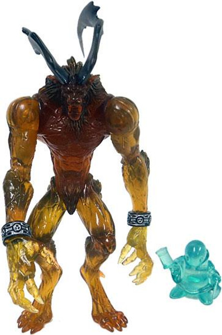 FInal Fantasy VIII Guardian Force Ifrit Action Figure [Clear, Loose]