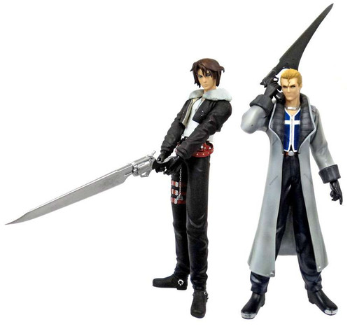 Final Fantasy Squall & Seifer 11-Inch Vinyl Figures