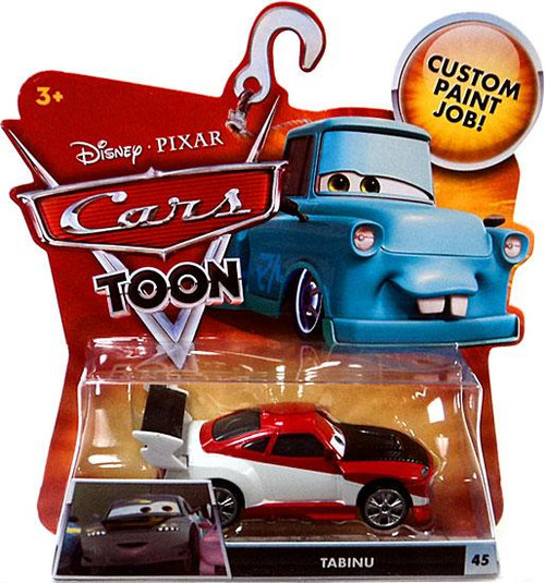 Disney Cars Cars Toon Main Series Tabinu Diecast Car #45