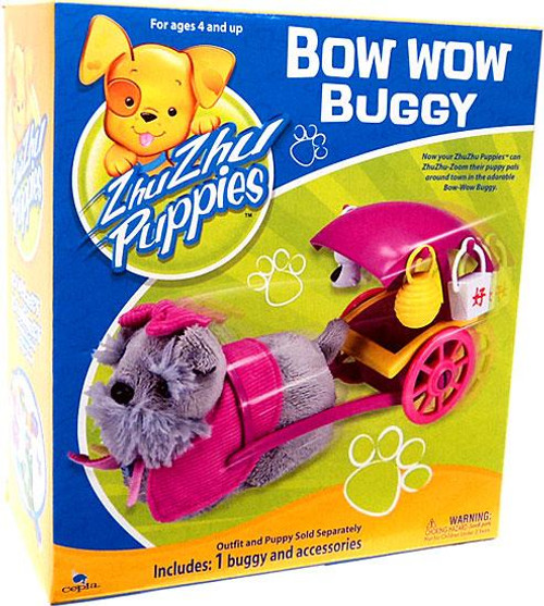Zhu Zhu Pets Zhu Zhu Puppies Bow Wow Buggy Playset