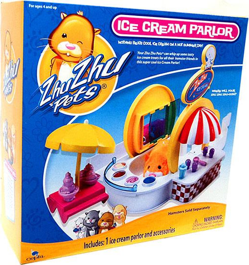 Zhu Zhu Pets Ice Cream Parlor Set Playset