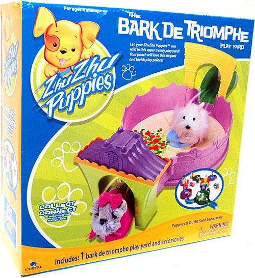 Zhu Zhu Pets Zhu Zhu Puppies The Bark De Triomphe Play Yard Playset