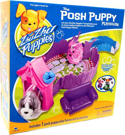 Zhu Zhu Pets Zhu Zhu Puppies Posh Puppy Playhouse Playset