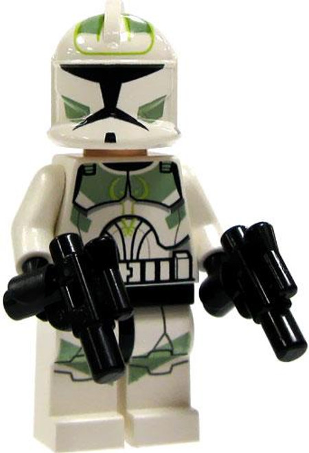 LEGO Star Wars Loose 41st Elite Corps Green Clone Trooper Minifigure [Loose]