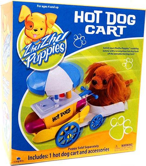 Zhu Zhu Pets Zhu Zhu Puppies Hot Dog Cart Playset