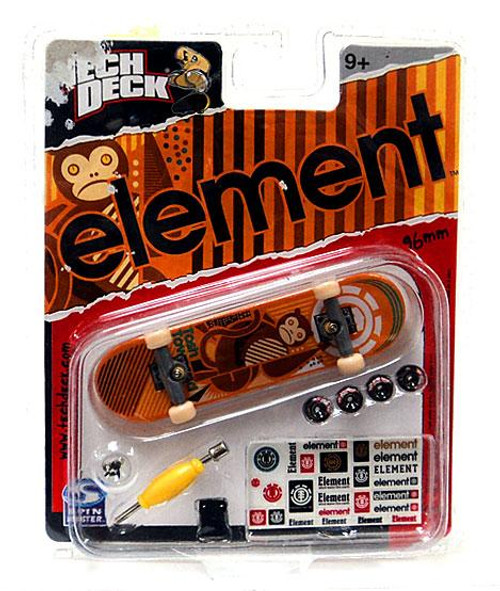 Tech Deck Element 96mm Mini Skateboard [Orange]