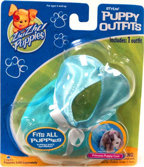 Zhu Zhu Pets Zhu Zhu Puppies Puppy Outfits Princess Puppy Coat Accessory Set