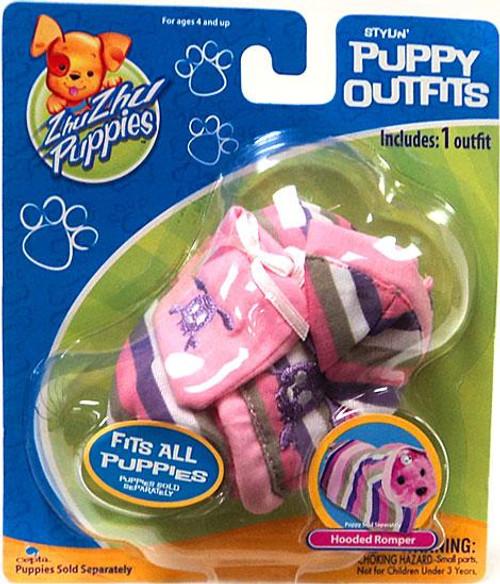 Zhu Zhu Pets Zhu Zhu Puppies Puppy Outfits Hooded Romper Accessory Set