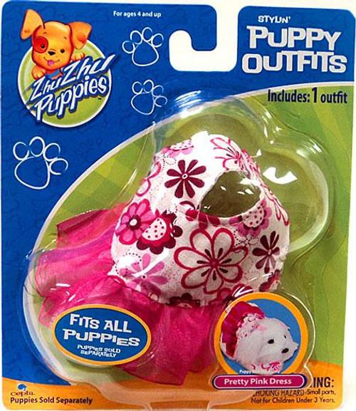 Zhu Zhu Pets Zhu Zhu Puppies Puppy Outfits Pretty Pink Dress Accessory Set