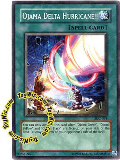 YuGiOh Invasion of Chaos Common Ojama Delta Hurricane!! IOC-034