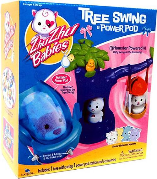 Zhu Zhu Pets Babies Tree Swing & Power Pod Playset