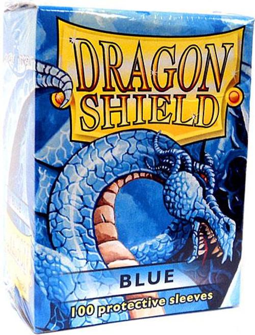 Card Supplies Dragon Shield Blue Standard Card Sleeves [100 ct]