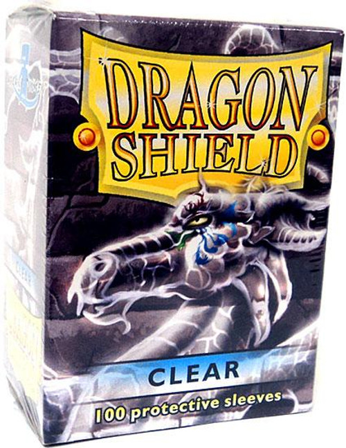 Card Supplies Dragon Shield Clear Standard Card Sleeves [100 ct]