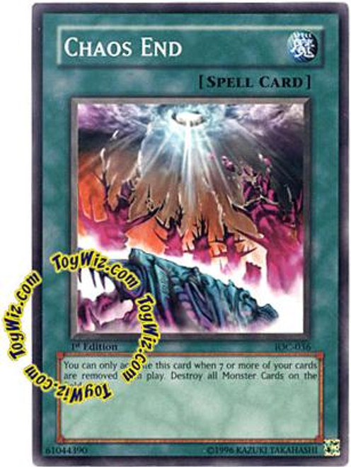 YuGiOh Invasion of Chaos Common Chaos End IOC-036