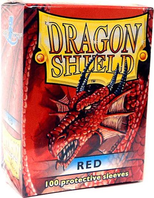 Card Supplies Dragon Shield Red Standard Card Sleeves [100 ct]
