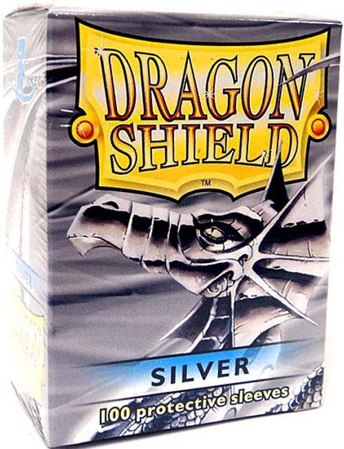 Card Supplies Dragon Shield Silver Standard Card Sleeves [100 ct]