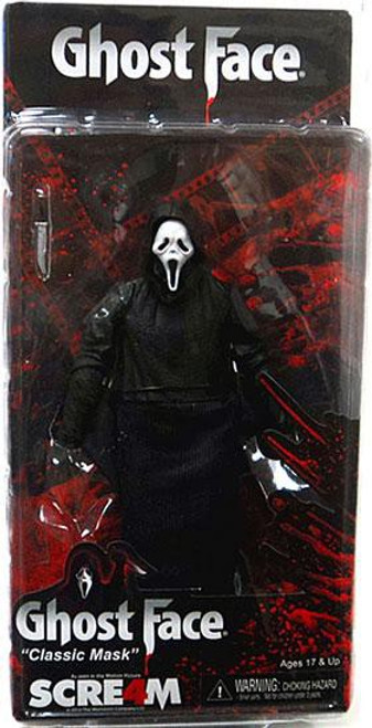 NECA Scream 4 Cult Classics Ghost Face Action Figure [Classic Mask]