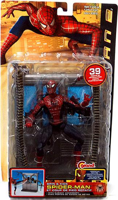 Spider-Man 2 Spin & Kick Spider-Man Action Figure