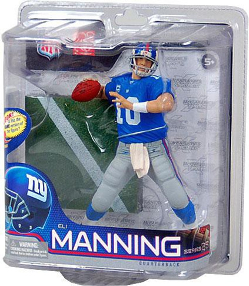 McFarlane Toys NFL New York Giants Sports Picks Series 26 Eli Manning Action Figure [Blue Jersey]