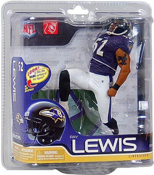 McFarlane Toys NFL Baltimore Ravens Sports Picks Series 26 Ray Lewis Action Figure [Purple Jersey]