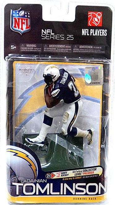 McFarlane Toys NFL San Diego Chargers Sports Picks Series 25 LaDainian Tomlinson Action Figure [Blue Jersey]