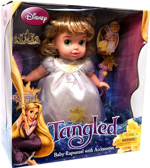 Disney Tangled Baby Rapunzel with Accessories Doll