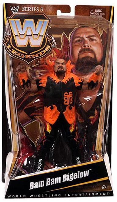 WWE Wrestling Legends Series 5 Bam Bam Bigelow Action Figure