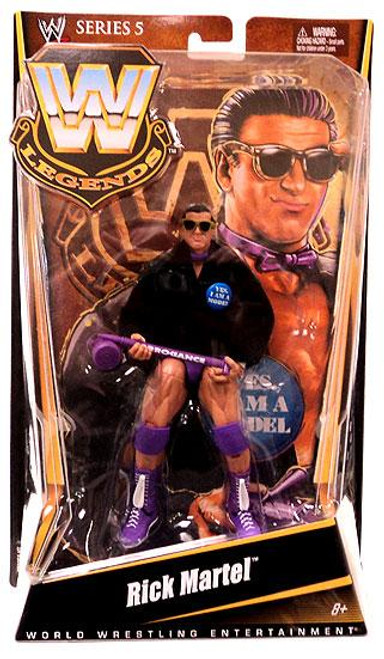 WWE Wrestling Legends Series 5 Rick Martel Action Figure