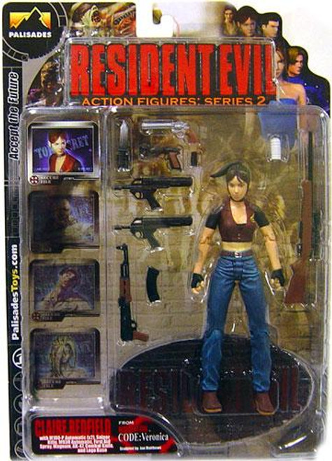 Resident Evil Series 2 Claire Redfield Action Figure [Clean]