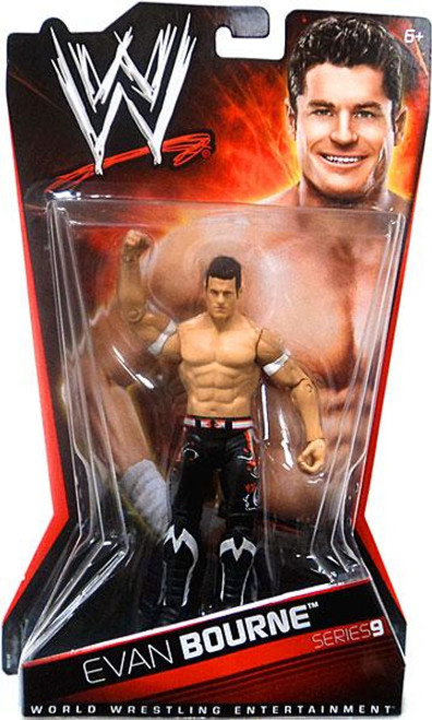 WWE Wrestling Series 9 Evan Bourne Action Figure