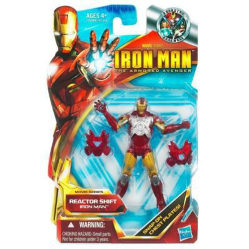 The Armored Avenger Movie Series Reactor Shift Iron Man Action Figure #43