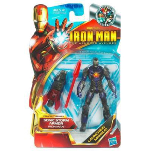 The Armored Avenger Concept Series Sonic Storm Armor Iron Man Action Figure #45
