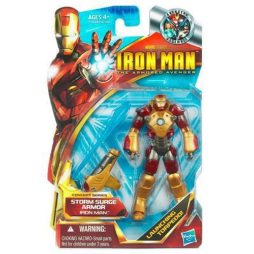The Armored Avenger Concept Series Storm Surge Armor Iron Man Action Figure #46
