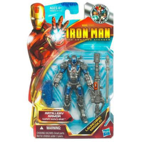 Iron Man The Armored Avenger Concept Series Artillery Armor War Machine Action Figure #2