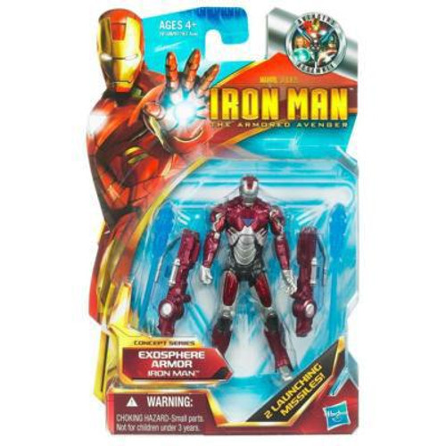 The Armored Avenger Concept Series Exosphere Armor Iron Man Action Figure #4