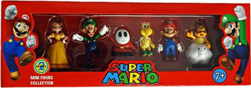 Mini Figure Collection Series 2 Super Mario Collection Mini Figures