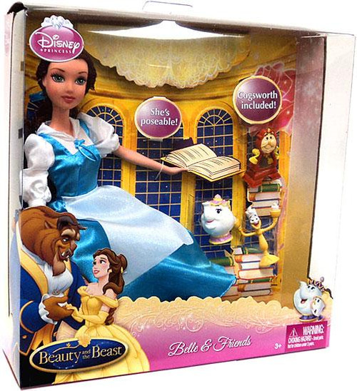 Disney Princess Beauty and the Beast Belle & Friends 20-Inch Doll Set