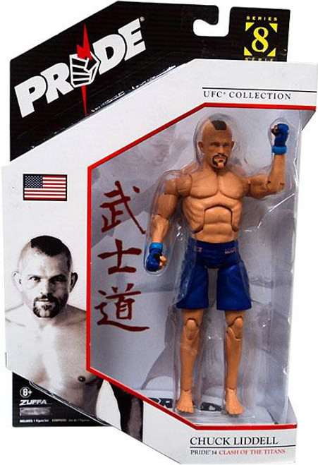 UFC Collection Series 8 Chuck Liddell Action Figure [Pride 14]