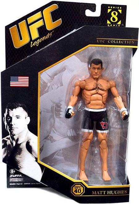 UFC Collection Series 8 Matt Hughes Action Figure [UFC 40, Legends]
