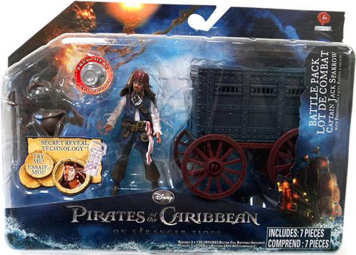 Pirates of the Caribbean On Stranger Tides Battle Pack Captain Jack Sparrow Action Figure Pack