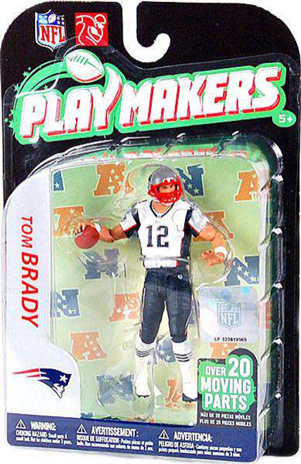 McFarlane Toys NFL New England Patriots Playmakers Series 2 Tom Brady Action Figure