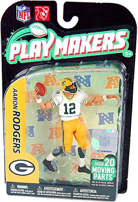 McFarlane Toys NFL Green Bay Packers Playmakers Series 2 Aaron Rodgers Action Figure