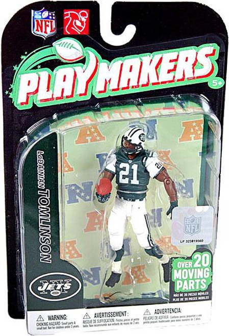 McFarlane Toys NFL New York Jets Playmakers Series 2 LaDainian Tomlinson Action Figure