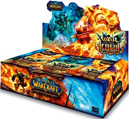 World of Warcraft Trading Card Game War of the Elements Booster Box